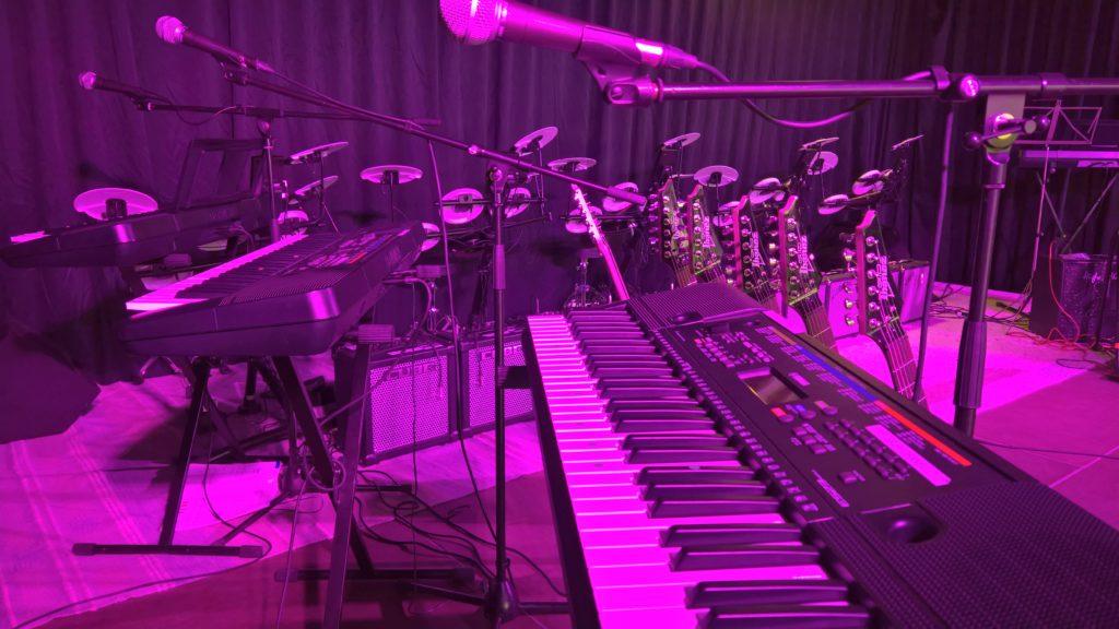 Bühne Instrumente 1